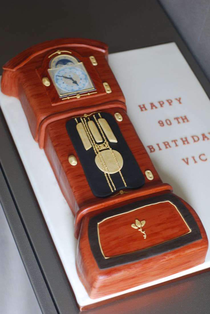 66 best clock cakes images on pinterest antique clocks vintage