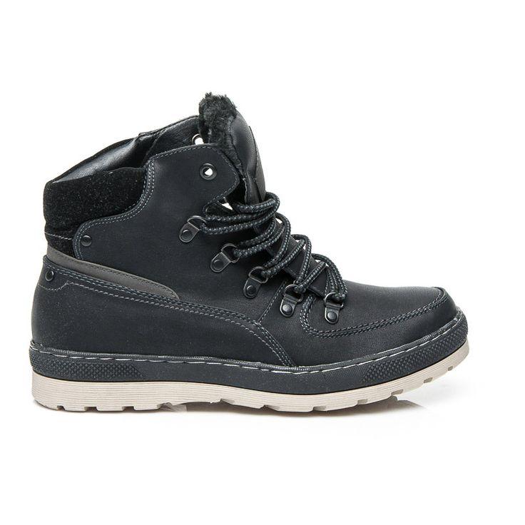 Pánske topánky na zimu https://www.cosmopolitus.com/meskie-buty-zime-czarny-9wls141186bdg-d1l23-p-125466.html?language=sk&pID=125466 #panske #topanky #klesat #zimne #lovci #zviazany #chranic #pohodlne #classic