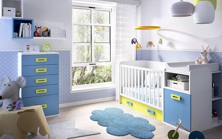 10 best Muebles infantiles images on Pinterest | Convertible crib ...