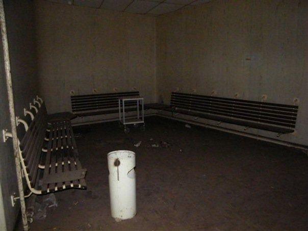 Ward waiting area, Kempton Park Hospital