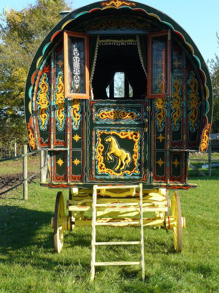 Use horses/ pegasus and unicorns along with dragons and harps? Gypsy Caravan Holiday Breaks | Accommodation photos