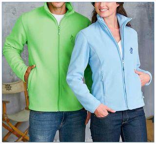 SeaHorse-Collection, veste micropolaire zippée, 59,99€