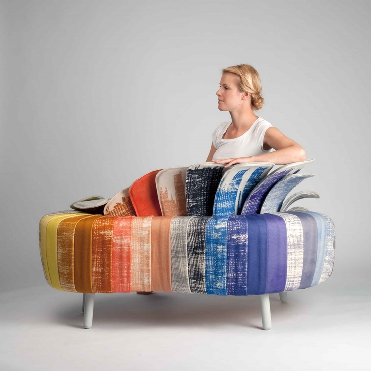 Split Personality Sofa by Danish designer Ditte Maigaard who runs the Ditte Maigaard Studio, Store & Online Shop.