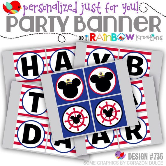 8 Best Nautical Mickey Mouse Inspired Birthday Party