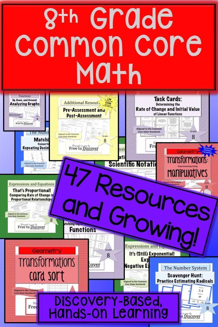 20 best ccg8 functions images on pinterest math middle school 8th grade math mega bundle fandeluxe Images