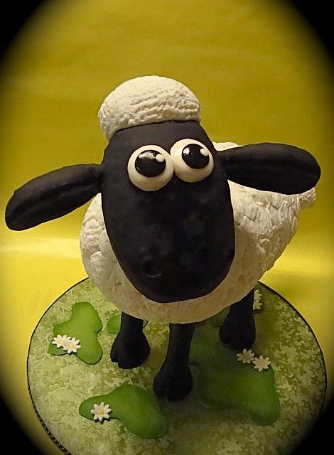 Shaun the Sheep Cake!