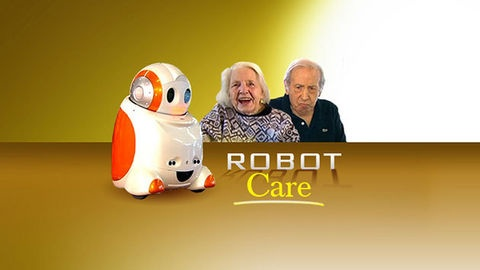 A social robot who dances, sings and reads the news is helping seniors who suffer from dementia.