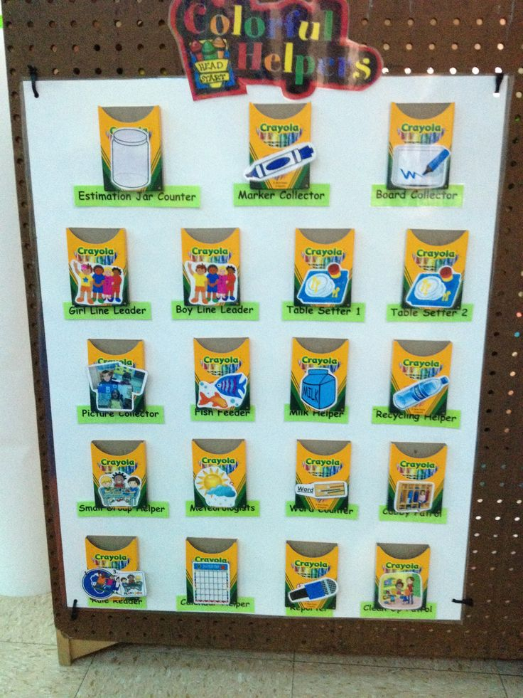Classroom Decoration Charts For Kindergarten ~ Best images about crayola theme classroom on pinterest