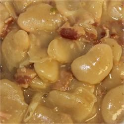 Pressure Cooker Butter Beans with Beer and Bacon - Allrecipes.com