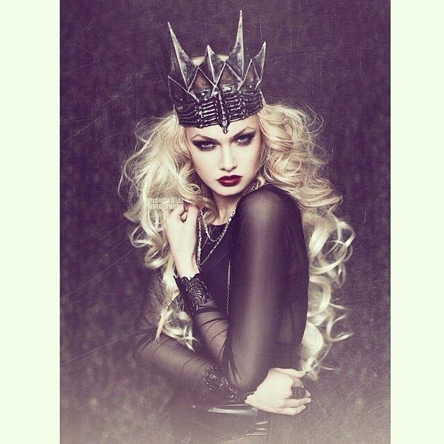 I love it. It's like an evil queen