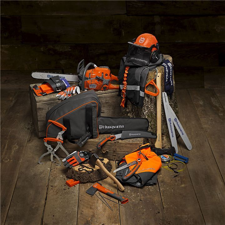 Chainsaw PPE Accessories Visit us at Brownlee's General Store for a great selection of Husqvarna equipment, accessories, and safety gear.  #BrownleesGeneralStore