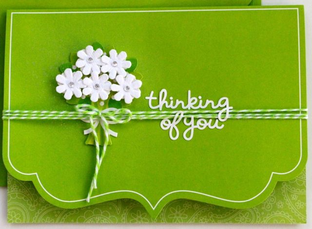 142 best cardscolour green images – Green Birthday Card