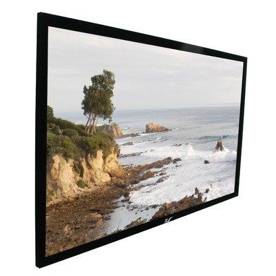 Elite Screens R84WH1-A1080P2 ezFrame Fixed Projection Screen (84 Inch 16:9 AR)(Acoustic) by Elite. $637.21. The Elite Screens ezFrame series of fixed-frame projector screen creates a true home theater experience for your dedicated theater or media room. Our low profile fixed-frame screens are mounted flush against the wall like any large picture frame allowing it to occupy a minimal amount of space regardless of its size. This empowers the owner to go for the dedic...