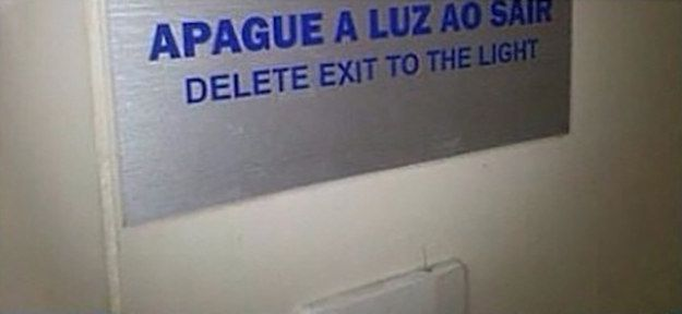 """""""The last to go exit the light"""" - Famous Brazilian dictate."""