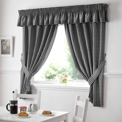 Gingham kitchen curtains | eBay UK | eBay.co.uk
