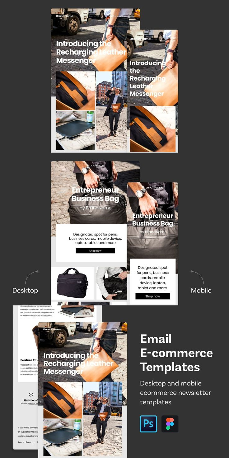 Email E-commerce Templates