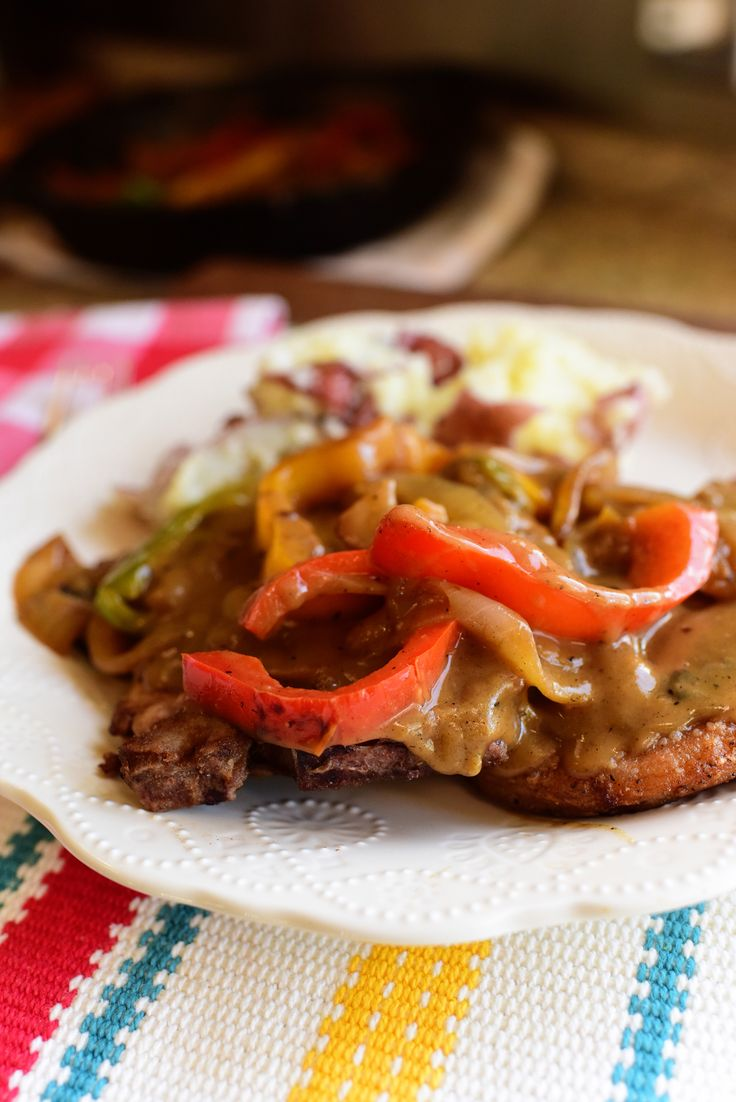 Smothered pork chops. 4-5 stars. May try same thing using pheasant or quail