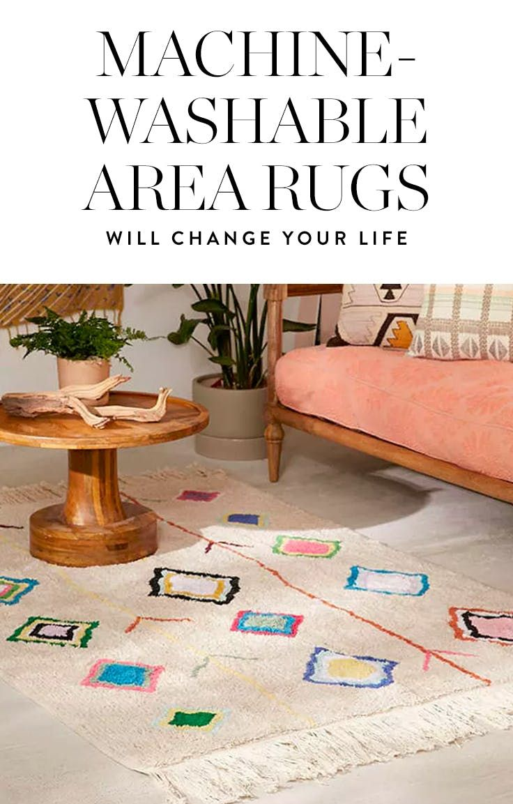 PSA: Machine-Washable Area Rugs Are Becoming a Thing  via @PureWow