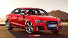 The new Audi RS 3 Sportback was revealed just days ago, and X-tomi Design is already live with trio of RS 3 based renders. Perhaps most interesting to U.S. fans is the RS 3 sedan above, though X-tomi has also rendered a 3-door and Cabriolet variant just to explore what an entire family might look like.