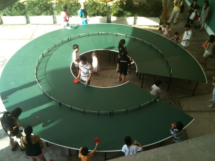 Ping pong go-round table Singapore