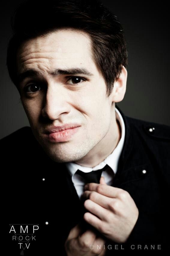 Brendon Urie, the only brown eyes ever to reach straight into my soul.