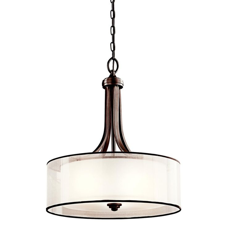 Kichler Lighting Lacey Inverted Pendant Mission Bronze with Cased Opal Inner Diffusers and Light Umber Translucent Outer Shades -- Read more at the image ...  sc 1 st  Pinterest & 70 best Hampton Lighting images on Pinterest | Ceilings ... azcodes.com