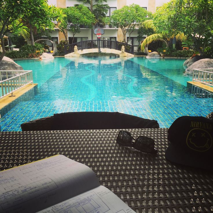 Great resort in Kuta Bali Inna - one of three pools