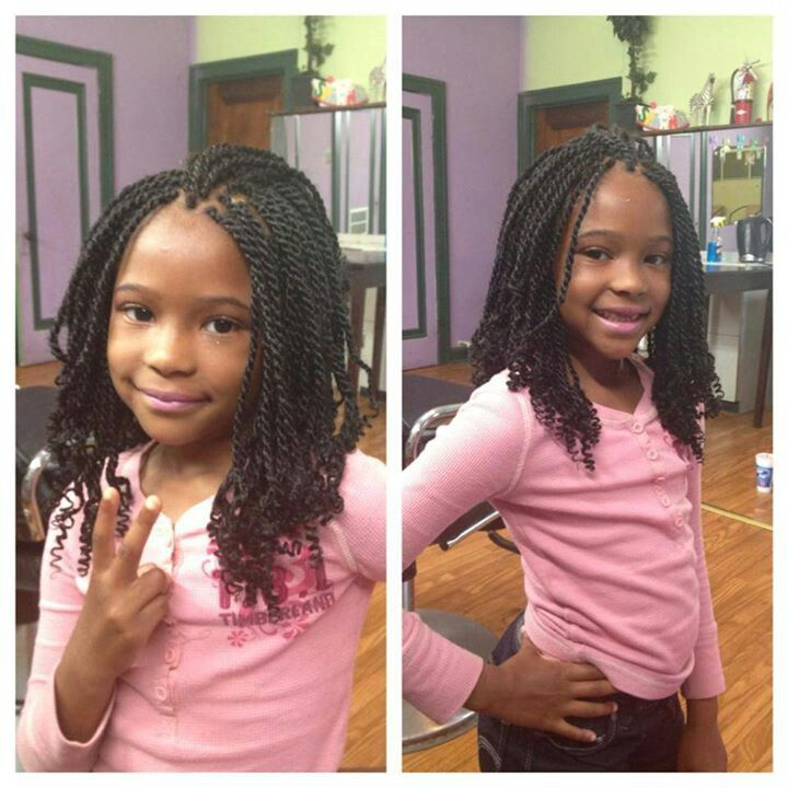 Cute twist hairstyles for little black girls