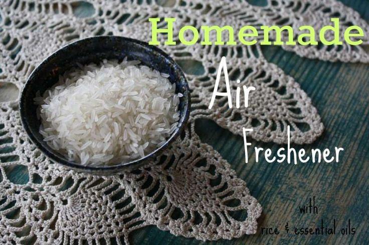 homemade rice air freshener
