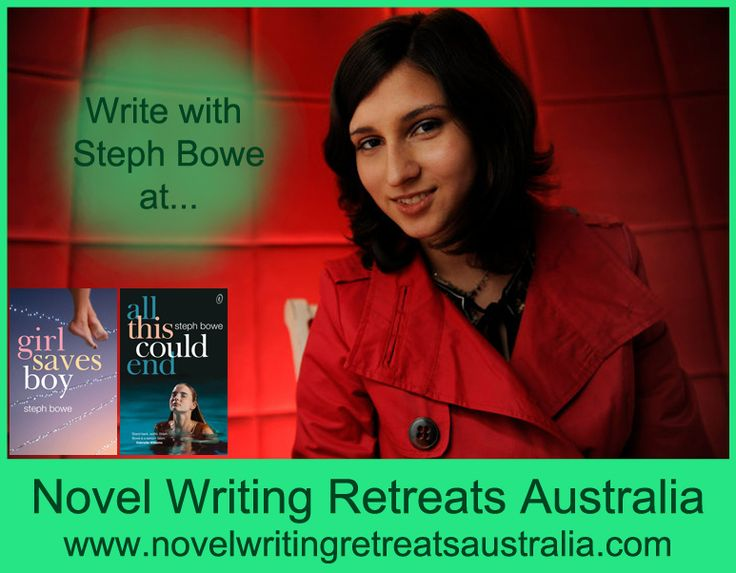 Steph Bowe is the 19 year old author of several teen novels, published in several countries and languages. Steph's first novel was released when she was 16 years old.  For more, see www.novelwritingretreatsaustralia.com.