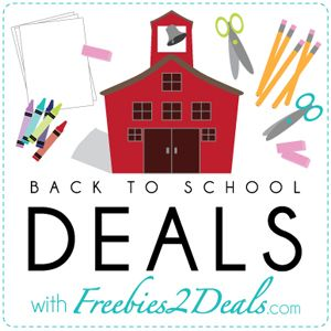 Back to School Category Full of Deals to Help Save You Time and Money! - Freebies2Deals