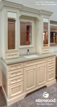 Traditional Bathroom Vanities By Elmwood Fine Custom Cabinetry