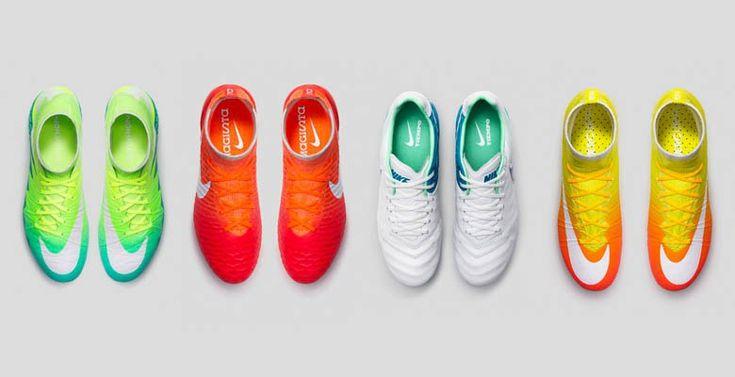 Nike presenta su tercera colección de botas para el fútbol femenino