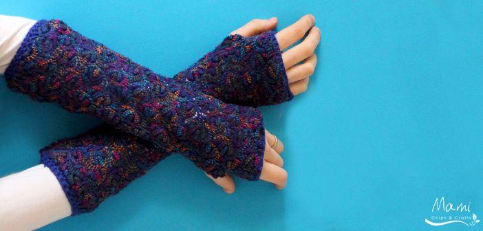 Guanti lunghi fai da te dal riciclo di un vecchio maglione | Lecobottega Blog