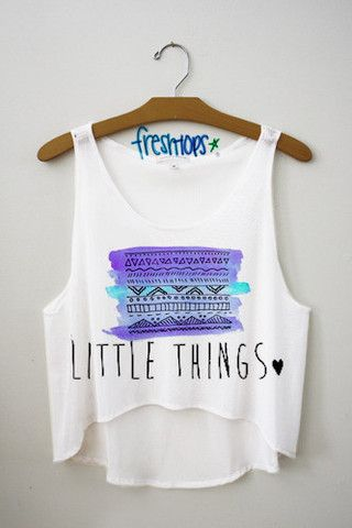 little things crop top - Fresh-tops.com