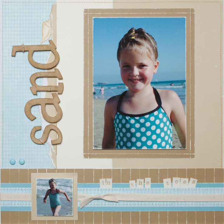 Link to summer #scrapbook ideas from #CTMH.