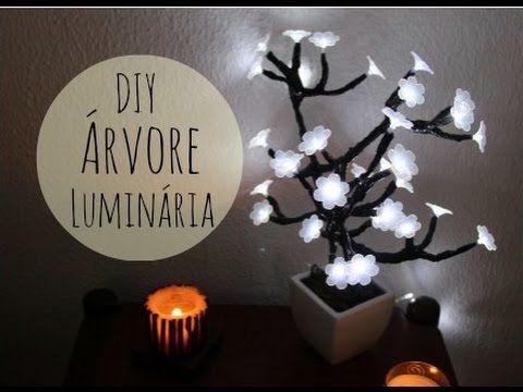 DIY - Árvore Luminária - Imaginarium - por Raquel Guimarães - YouTube
