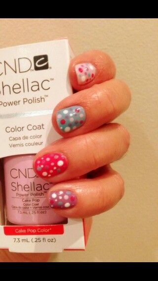 Dotty shellac