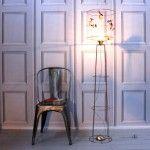 Unique Interior Light Fixture – Volières Bird Cage Floor Light