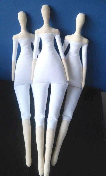 Puppenbau Tilda Puppenkörper Zum Weiterarbeiten Und Nähen