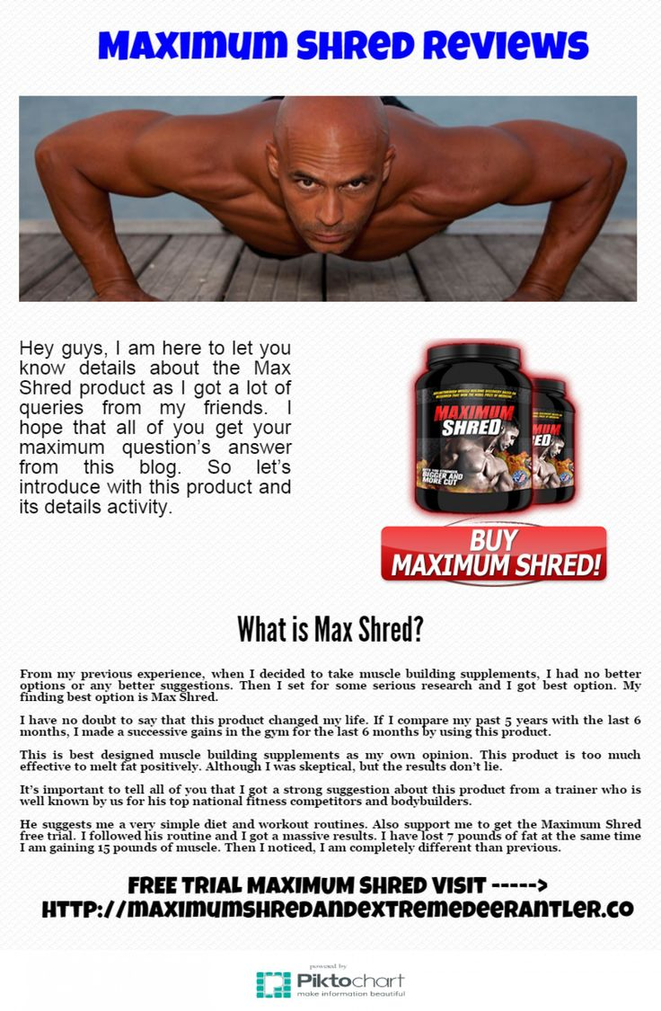 Hey guys, I am here to let you know details about the Max Shred product as I got a lot of queries from my friends. I hope that all of you get your maximum question's answer from this blog. So let's introduce with this product and its details activity.  Please visit our website to read maximum shred reviews.