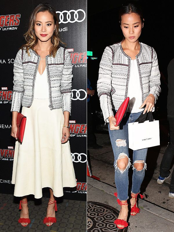 Jamie Chung Shows How to Effortlessly Pull Off a Day-to-Night Outfit Transformation http://stylenews.peoplestylewatch.com/2015/05/01/jamie-chung-wears-perfect-day-to-night-look/