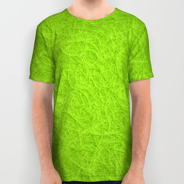 The texture is printed, not real fibers! Lime green 3D carpet texture All Over Print Shirt by Natalia Bykova on Society6. #tshirt, #alloverprint, #limegreen, #green, #texture, #alloverprintshirt, #shirt, #Society6, #tees, #printedtee, #alloverprinttee, #menstshirt