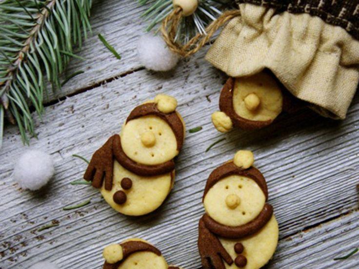 Ciasteczka bałwanki