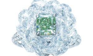 El anillo de Tiffany & Co. Fancy Verde como hay pocos…
