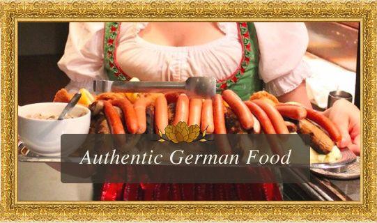 German Food, Beer & The Bavarian Strollers