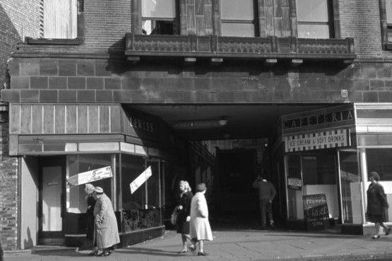 Hanley: The Bert Bentley Collection on Stoke Sentinel. Lewis' Arcade, Lamb Street.
