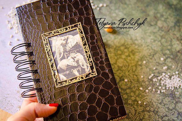 Enjoy your life: Travel Book/Mini Album. Видео мастер-класс. Scraps Of Darkness