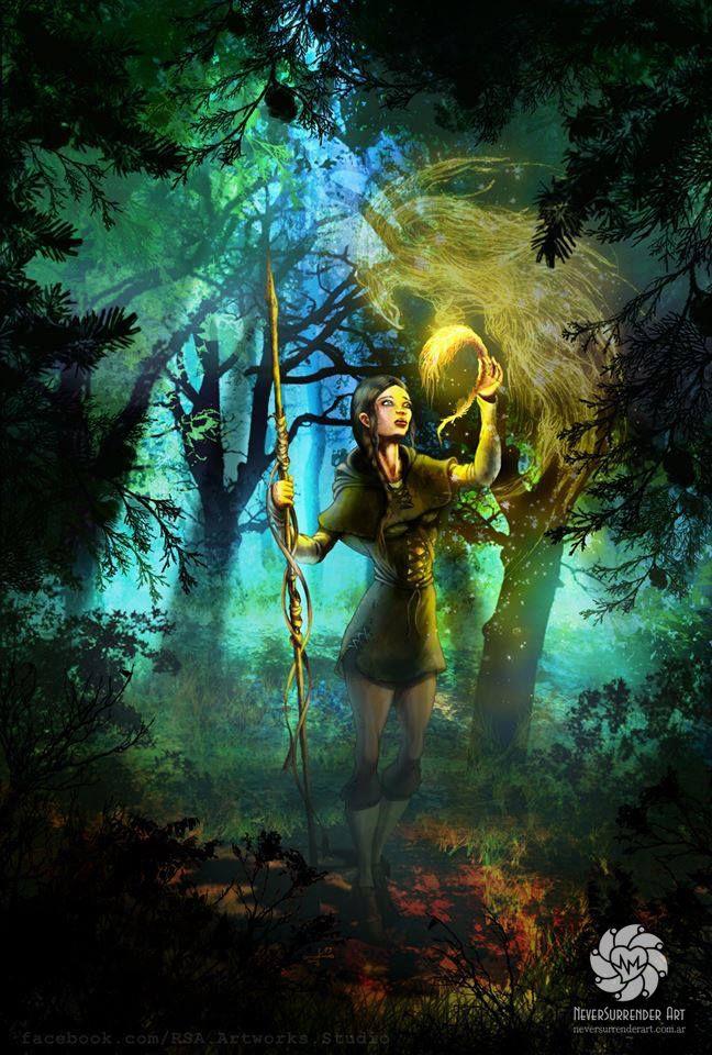 ஐ Ekaterina  The Firebird ஐ Book Cover illustration commissioned by the writer Bret Allen (England)