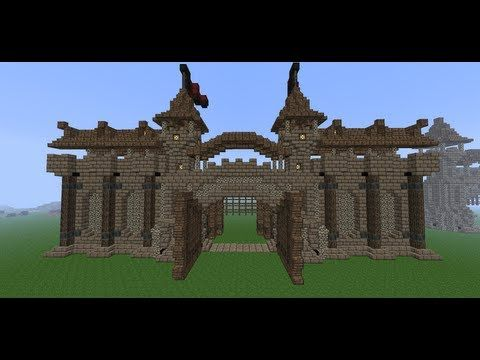 how to build a castle minecraft